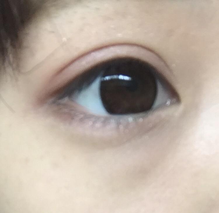 完成した目!