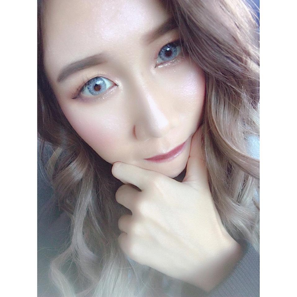カラコンレビュー♡シャルムホワイトのAfter画像