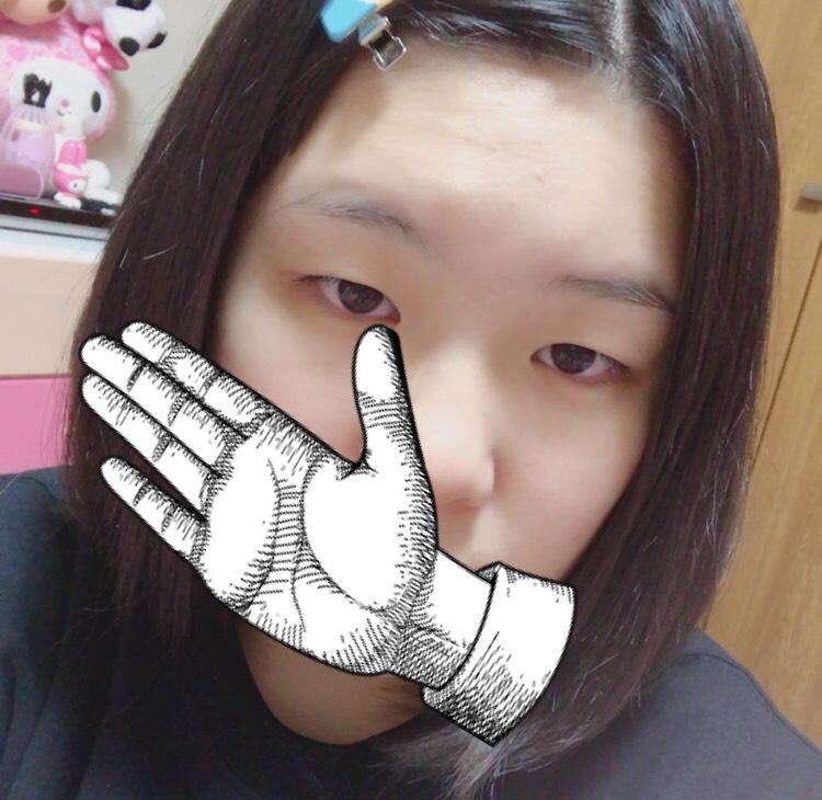 【JK】バレない学校メイク【一重】のBefore画像