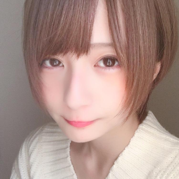 癖が着いた二重メイク(?)のAfter画像