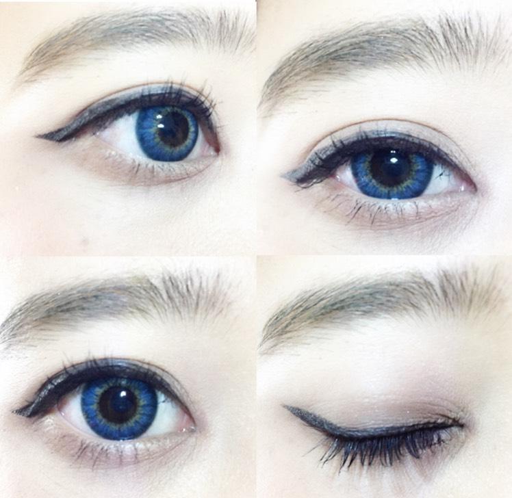 韓国のビューティクリエータの人たちがディレクターを務めたカラコンです! サイズは小さめですが縁が濃いブルーであるのでぼやけることはなくはっきりとした瞳になってくれます!