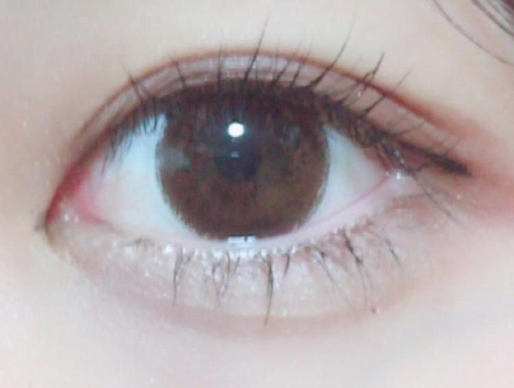 目が大きく見えるメイクのAfter画像