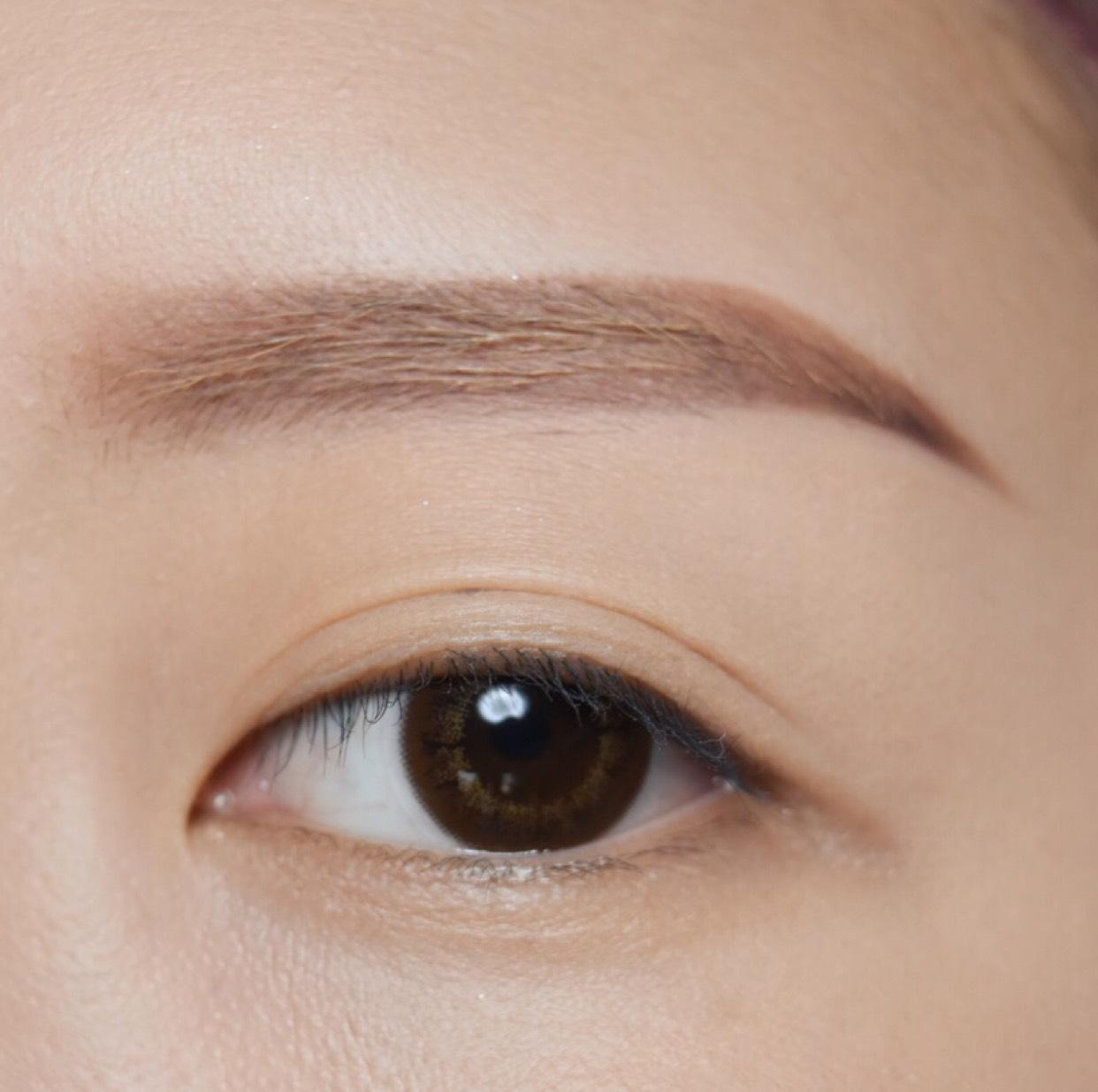 眉なしの眉毛の書き方のAfter画像