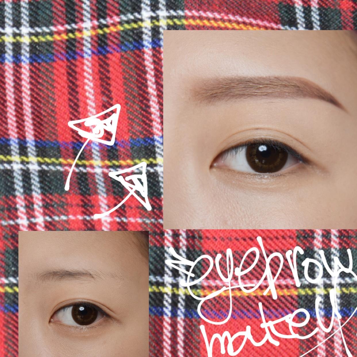 眉なしの眉毛の書き方
