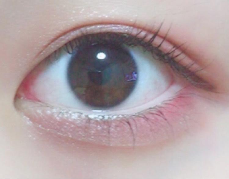腫れぼったく見えないピンクメイクのAfter画像