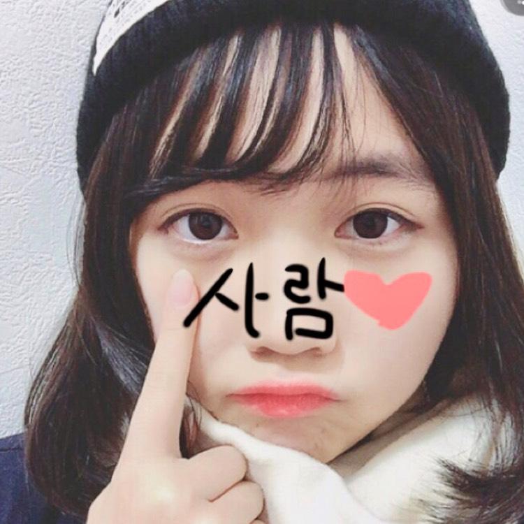 韓国風メイク(自信がない)