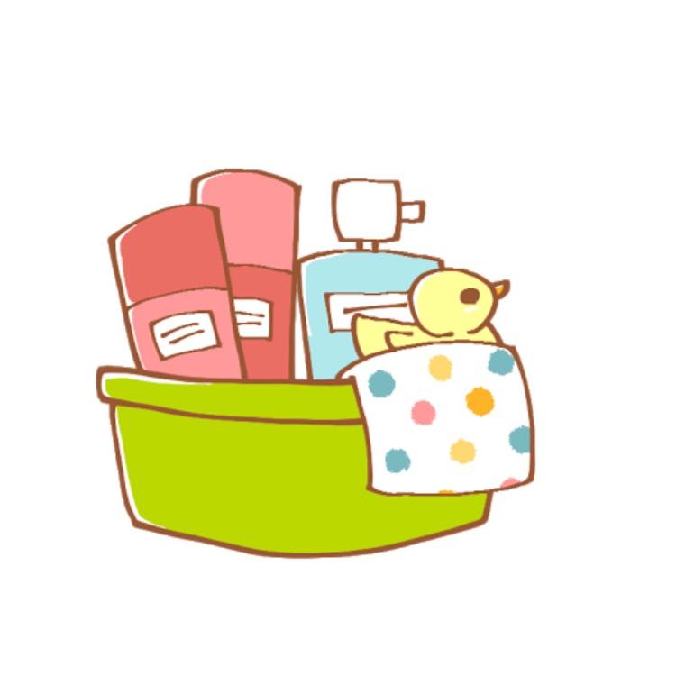 化粧をしている場合はきちんと落としてください。 ※お風呂に腰まで浸かるくらいのお湯も貯めておきます
