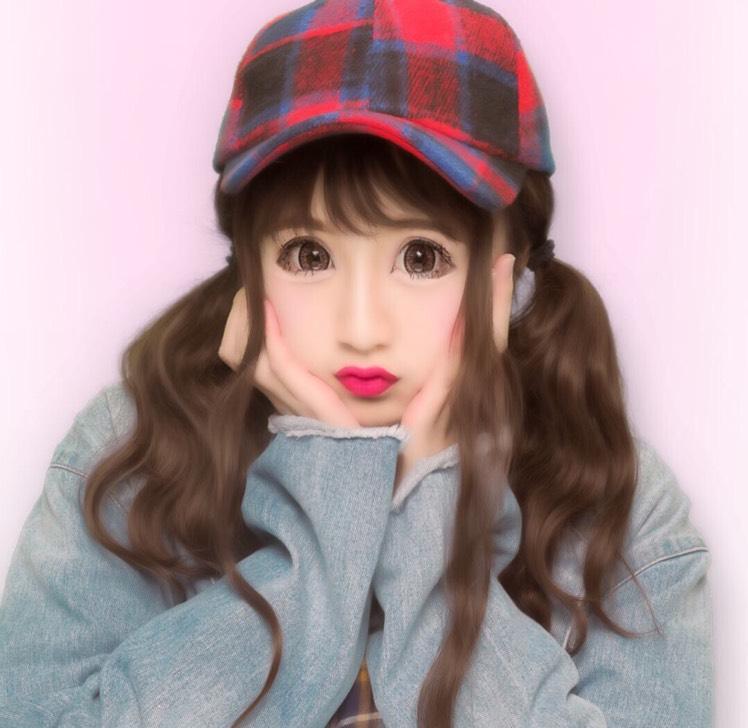 派手すぎないピンクメイク☆のAfter画像