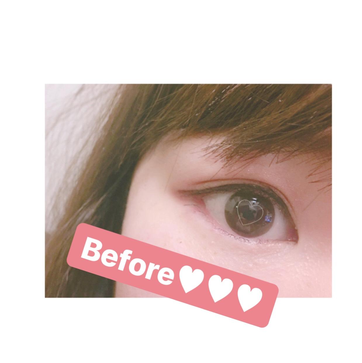ダイヤル式マスカラ♡♡♡のBefore画像