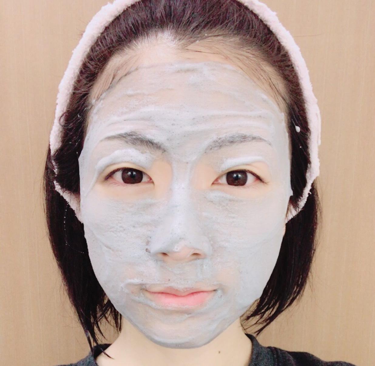 普通に顔全体洗ってみた