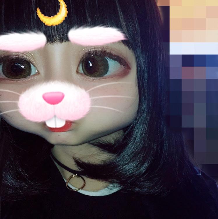 韓国風メイク(自己流)のBefore画像