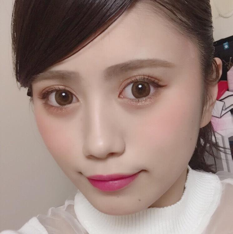 桜ピンクメイクのAfter画像