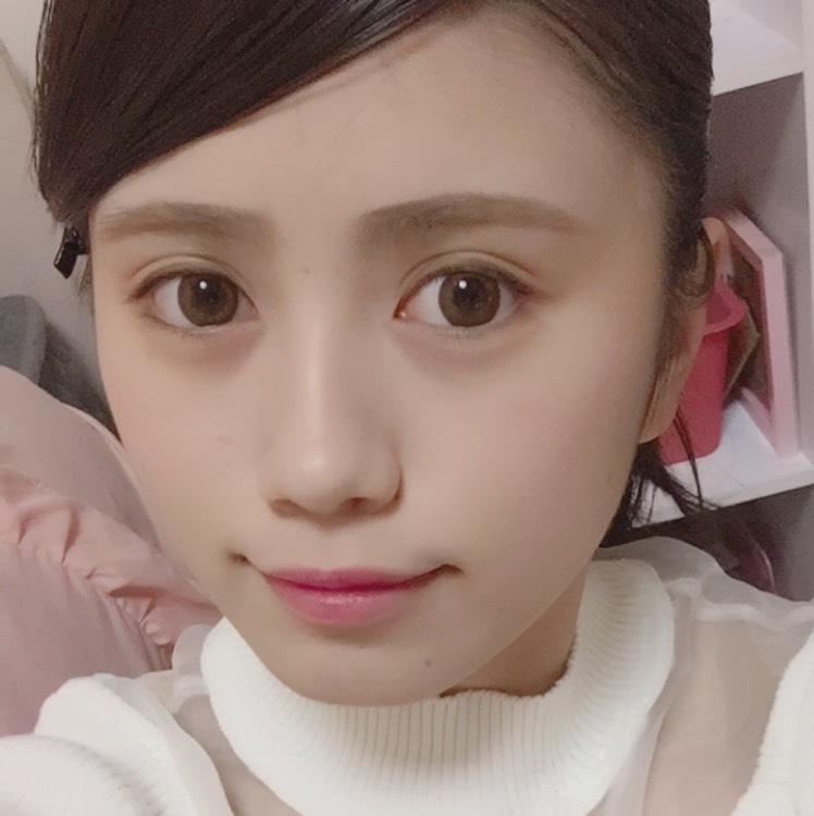 桜ピンクメイクのBefore画像
