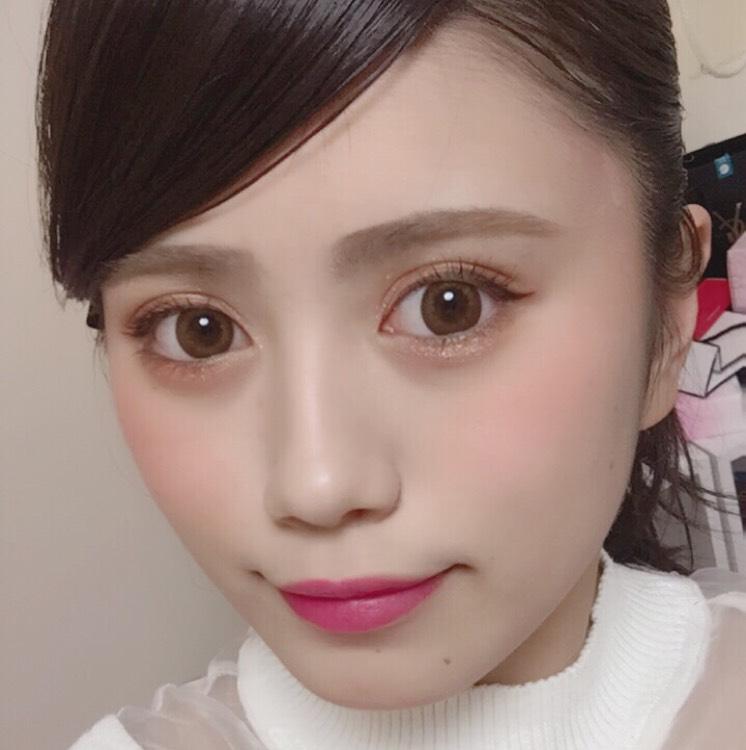 桜ピンクメイク