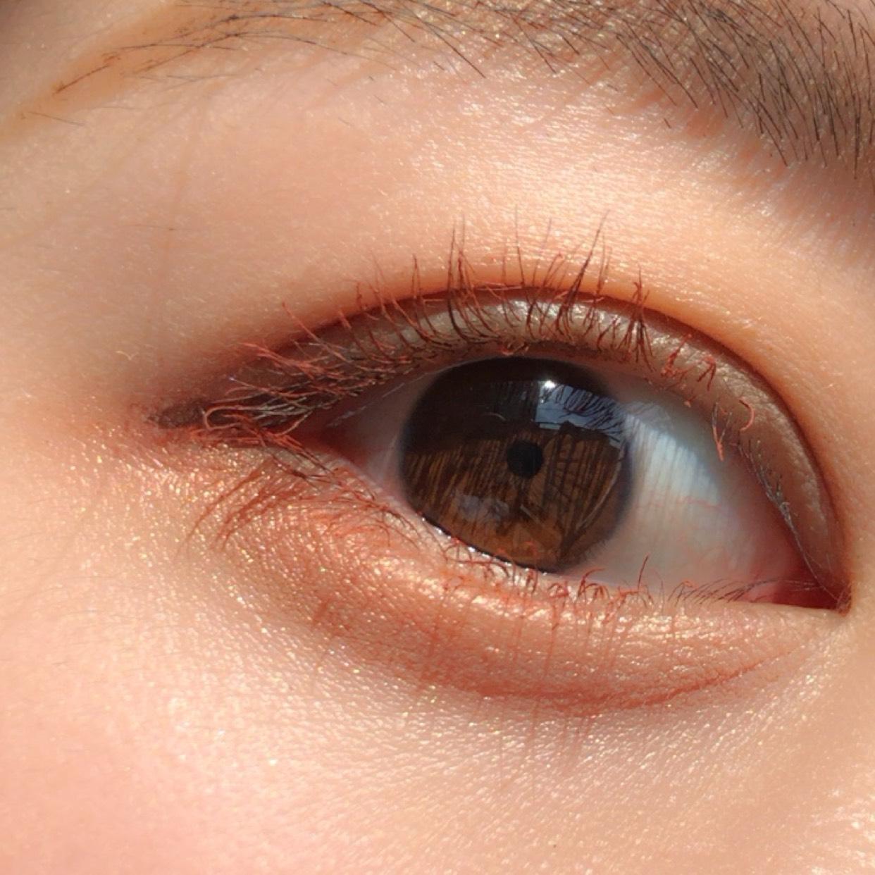【簡単!即マネ可能】韓国コスメ♡愛らしいブラウンメイクのAfter画像