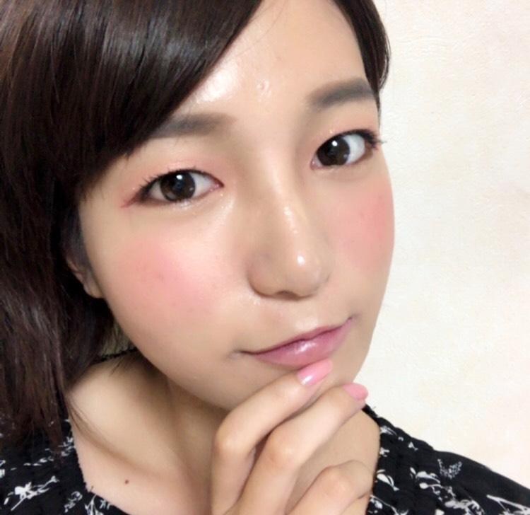 キラキラ桜メイク