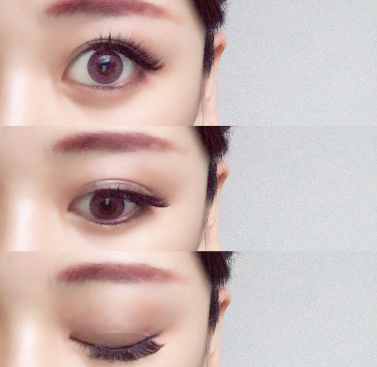 ピンク眉メイクのAfter画像