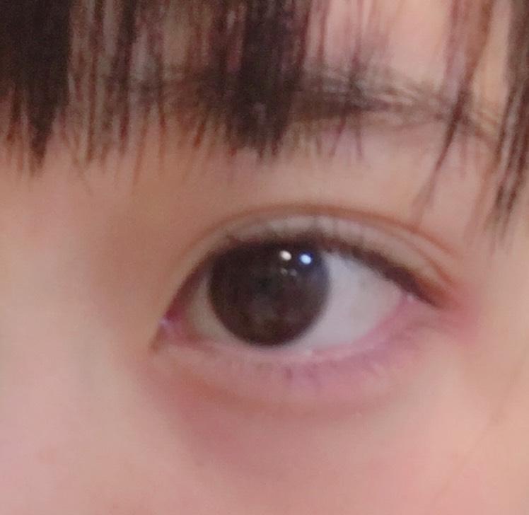 裸眼アイメイク