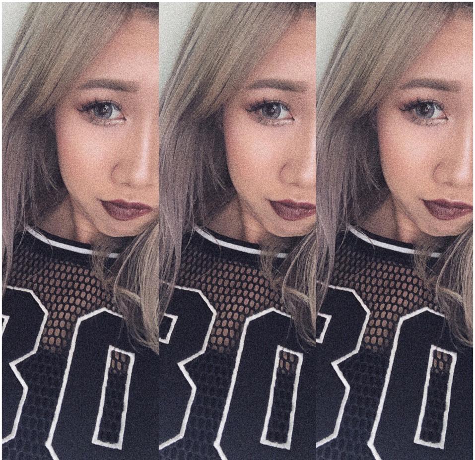 k-pop風♡のAfter画像