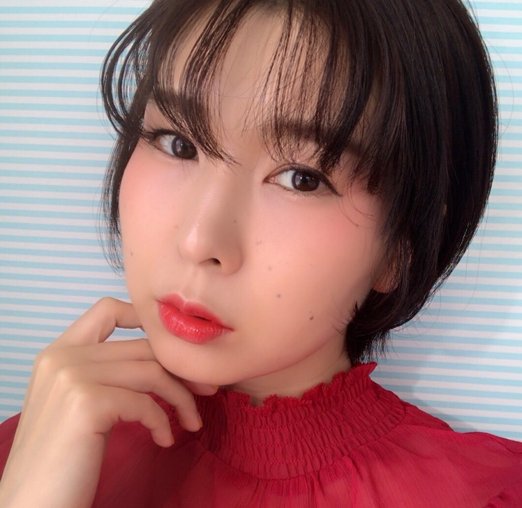 パンチチークメイク☆2018韓国メイク