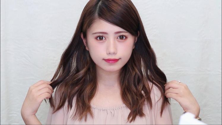 ゆるふわ巻き髪のBefore画像