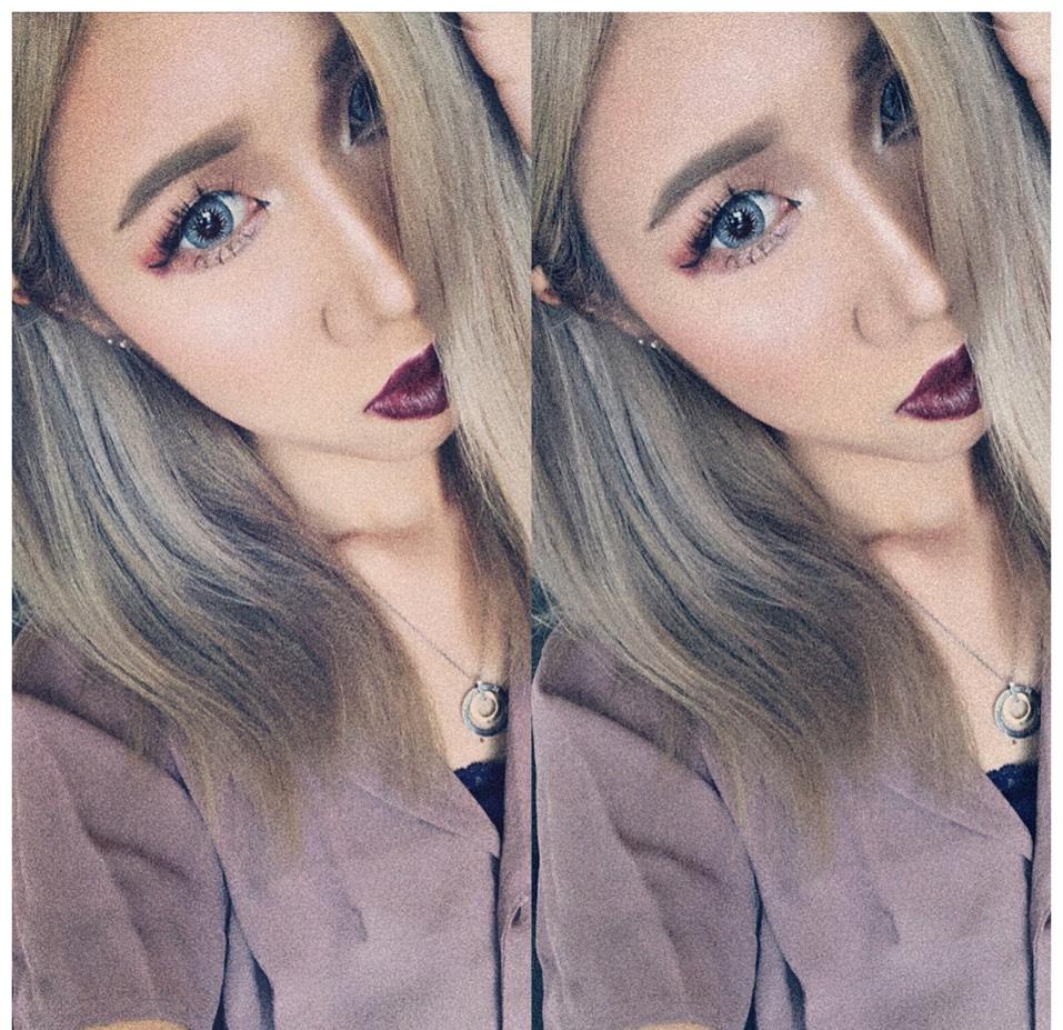 lipは自分でオリジナル作るのがスキ♡のAfter画像