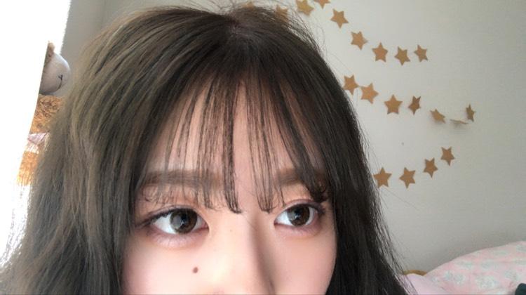 前髪を変えるだけで韓国風に✴︎