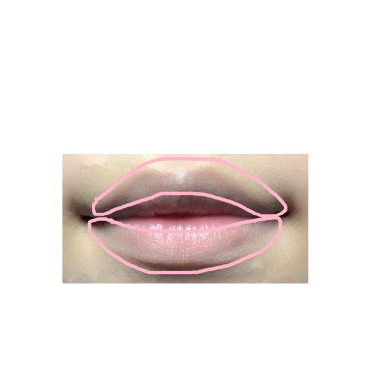 ピンクで囲ってある部分にコンシーラーを塗ります。 私はコスプレ用のコンシーラーを使っていますが自分の持っているコンシーラーで大丈夫です。
