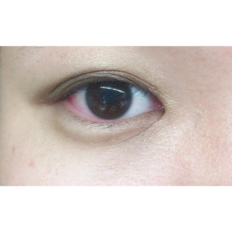 ブラウンeyeメイクのAfter画像