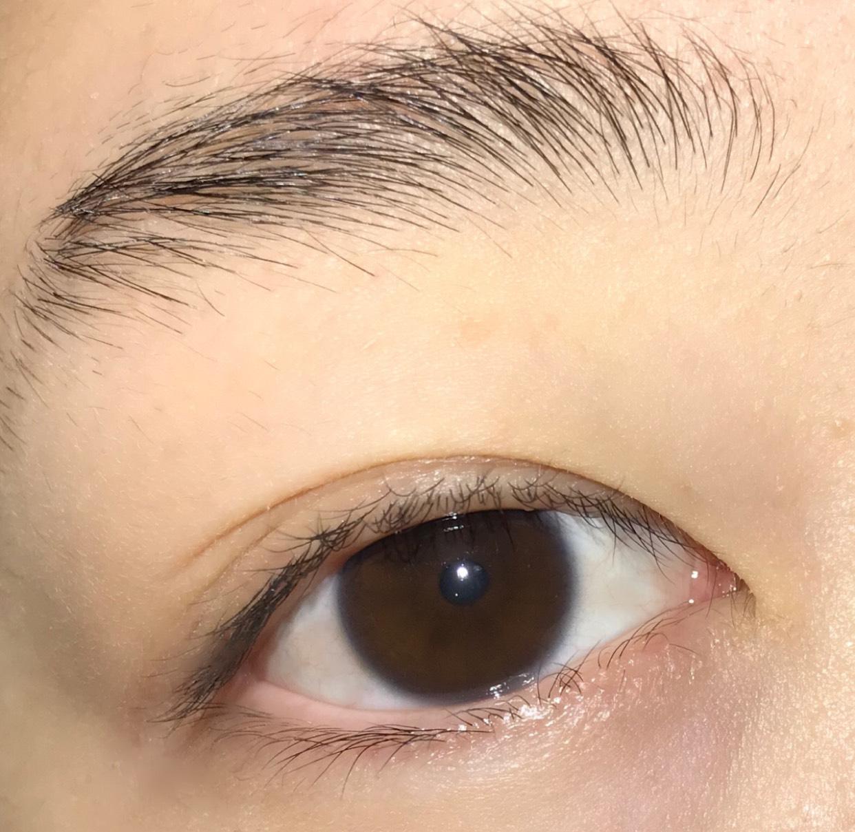 すっぴんの目です☺︎