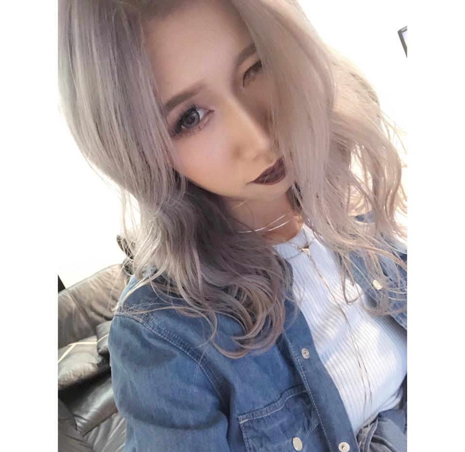 ホワイトグレー♡のAfter画像