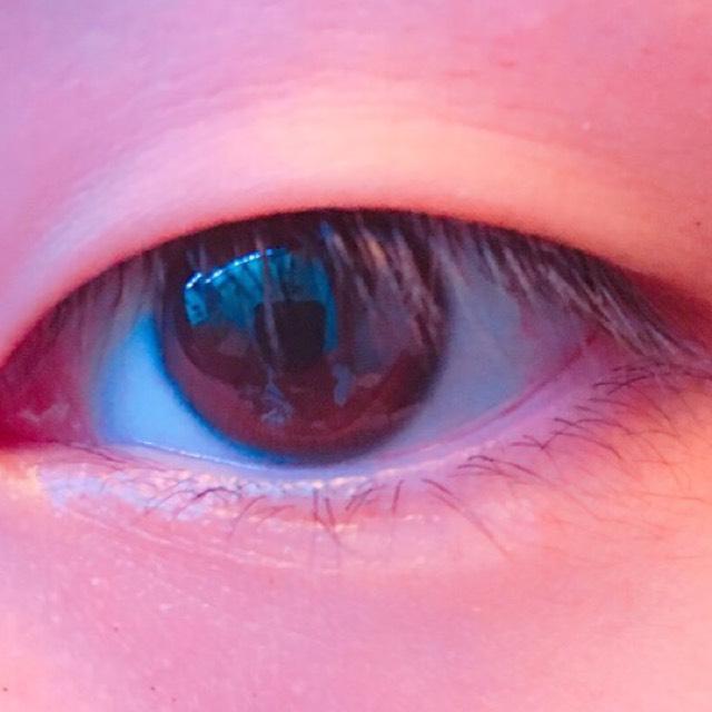 色っぽレッドメイクのBefore画像