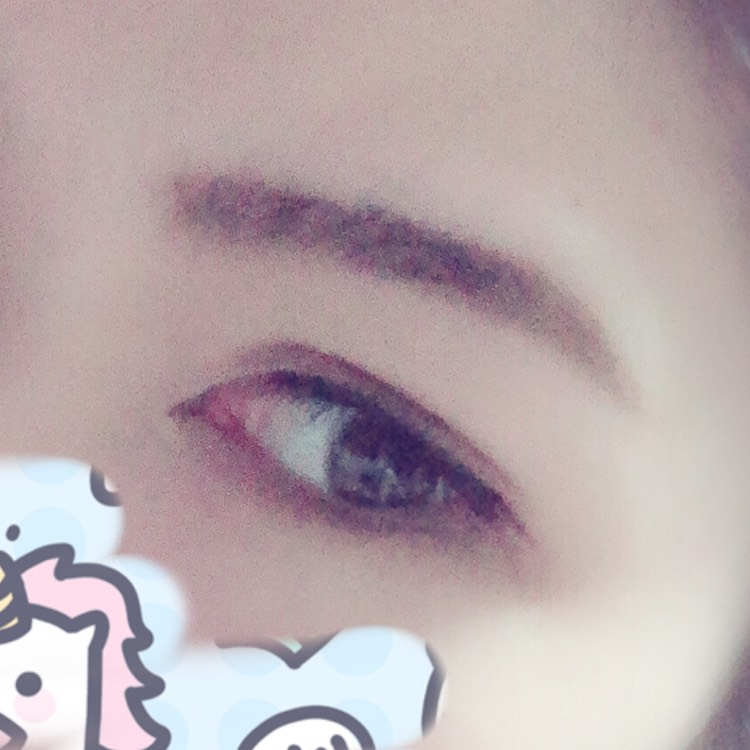 一重→二重の裸眼ナチュラル?メイク