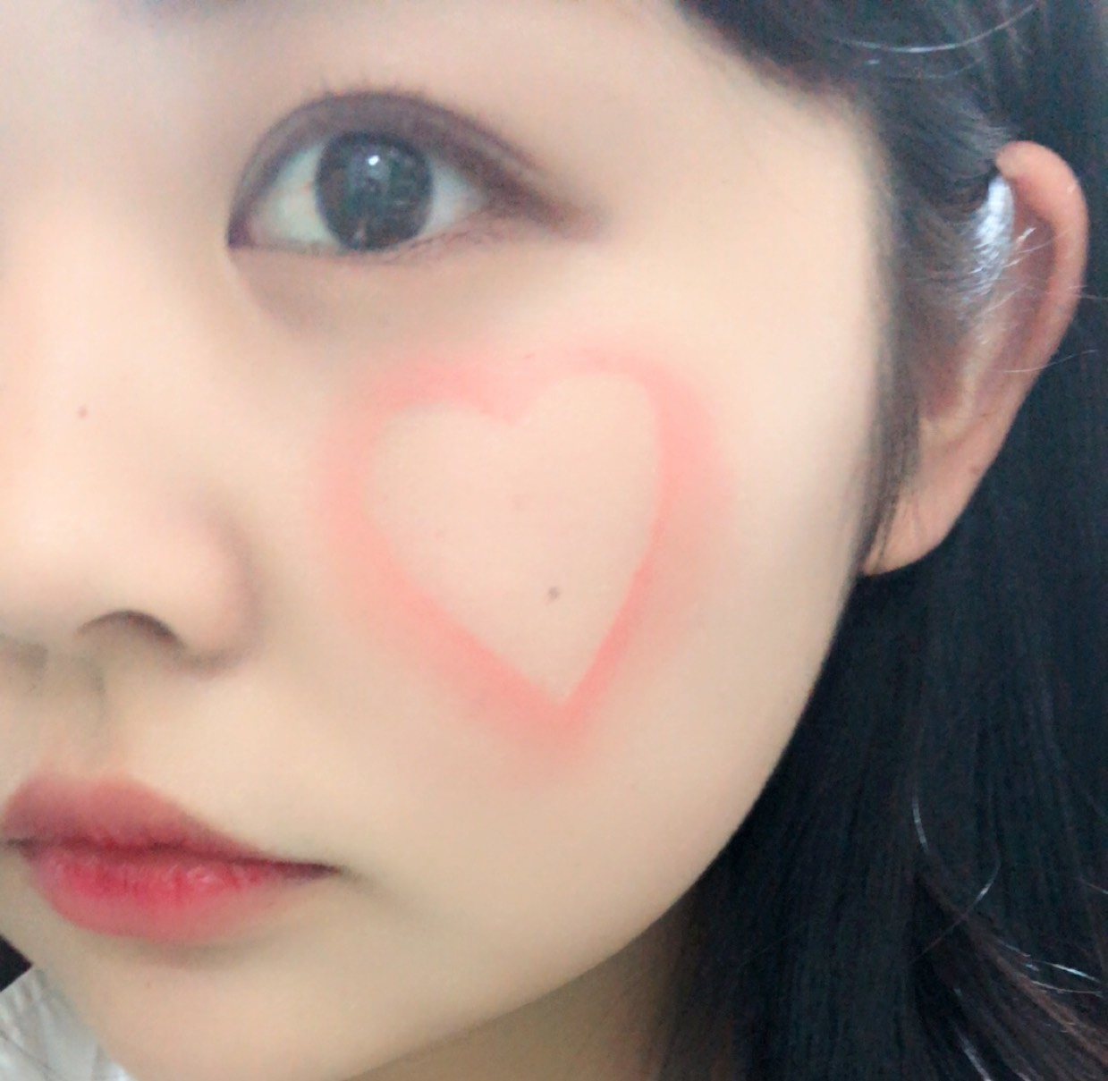 【韓国♡話題沸騰】ハートチーク !周りと差をつける♡のAfter画像