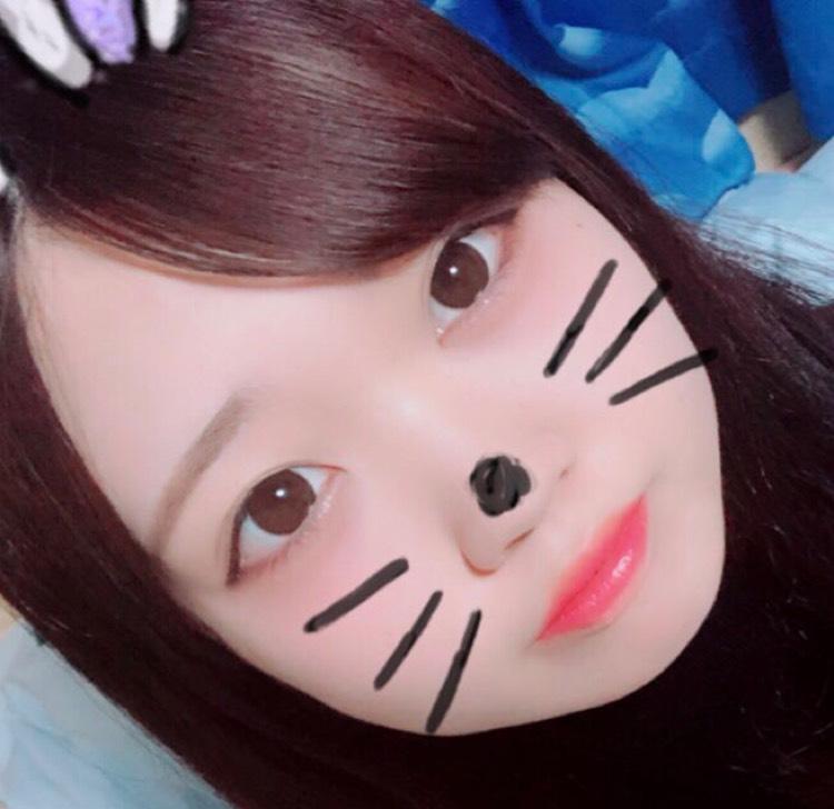 韓国風メイクのBefore画像