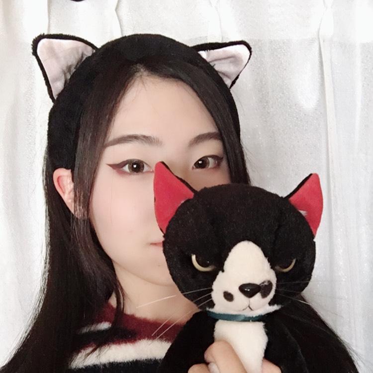 黄色い瞳の赤猫のAfter画像