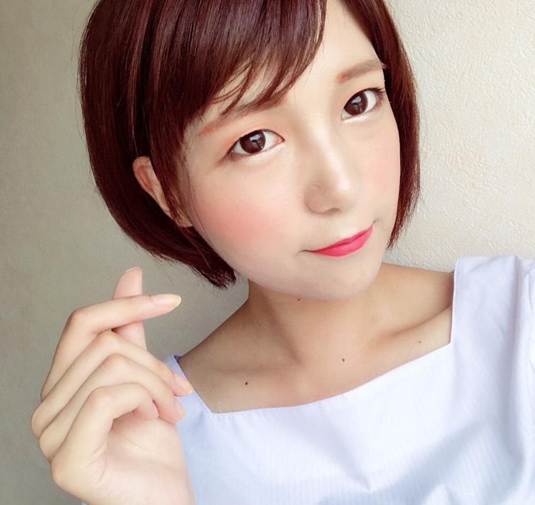 オレンジ韓国メイクのAfter画像