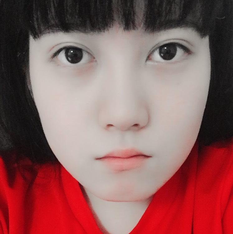 美大生の涙袋メイク〜顔面はキャンバス〜のBefore画像