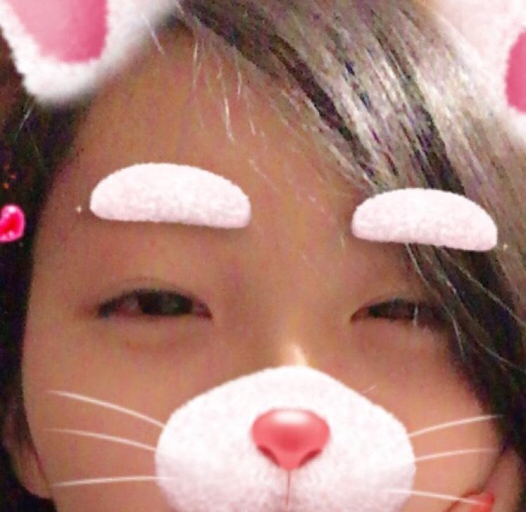 韓国風ラメピンクメイクのBefore画像