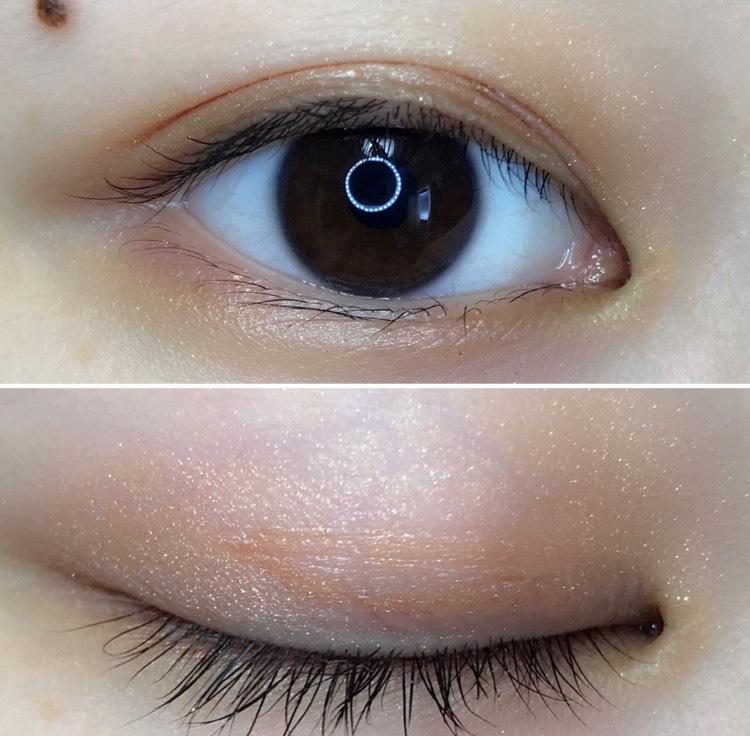 完成した目がこちら!目をつぶってもほとんど分からないです。なのにしっかり皮膜を作ってくれて二重に!眠そうな目から脱出(*^^*)