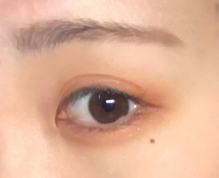 裸眼オレンジメイク eye ver