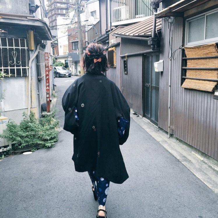 東京喰種/霧嶋董香コスプレのBefore画像