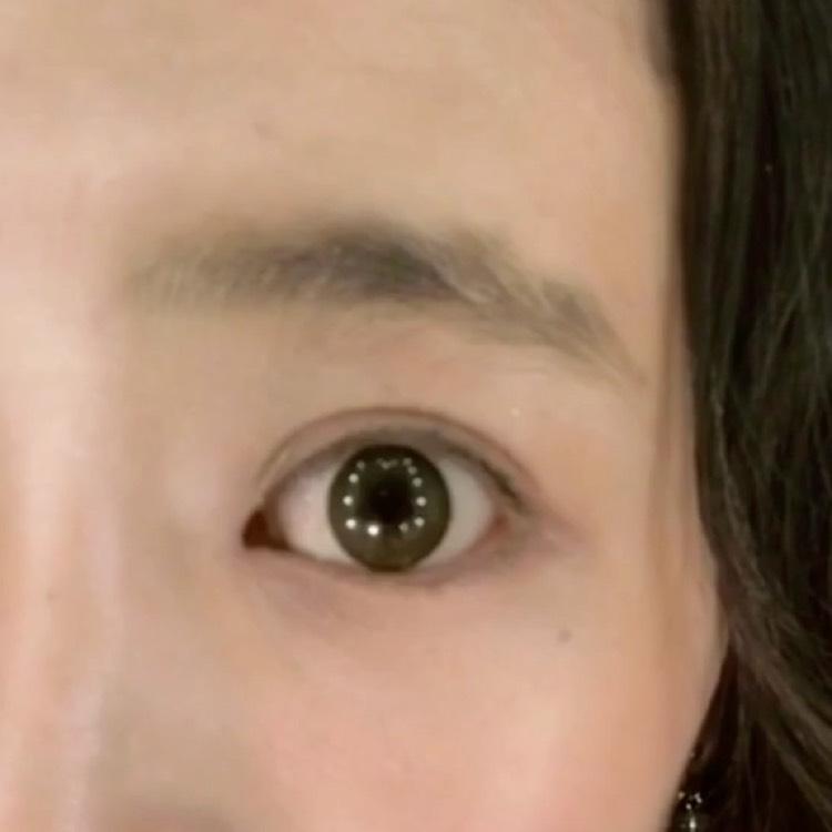眉毛はペンシルとマスカラで◎のBefore画像