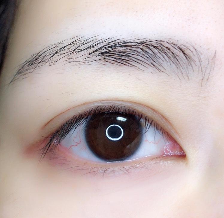 【MISSHA】ブラウンピンクメイクのBefore画像