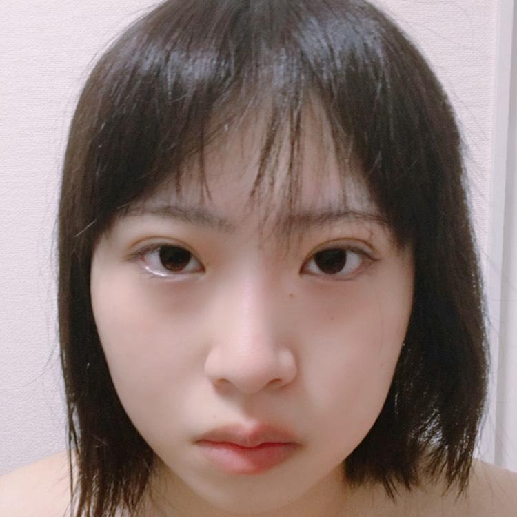 韓国っぽ♡美少女メイクのBefore画像