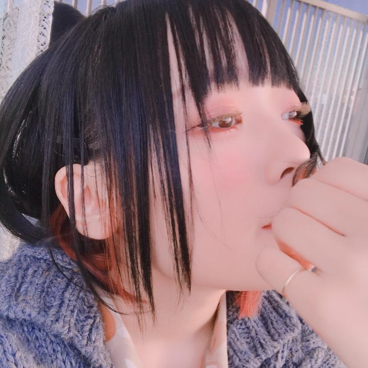 マスカラ遊び(カラーマスカラ)