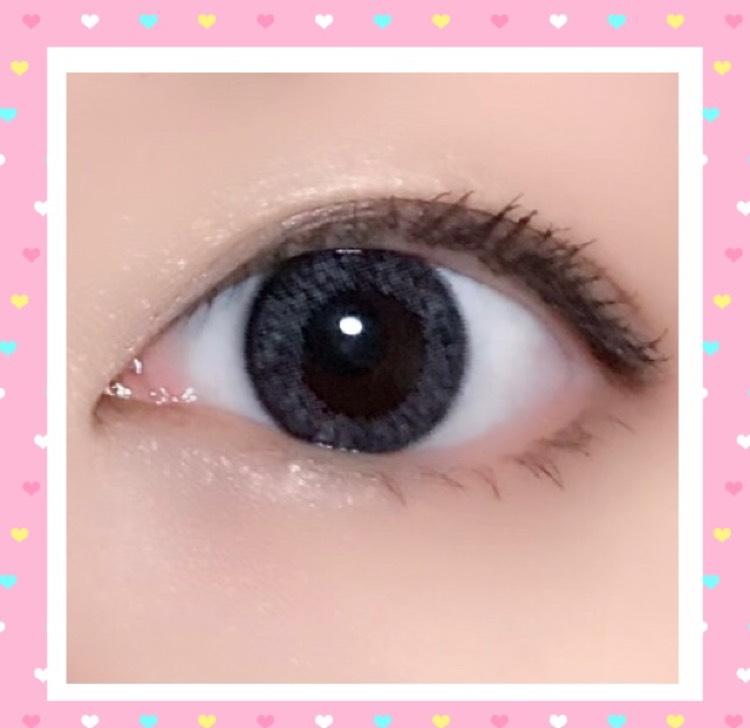 渡辺直美プロデュースの話題のカラーコンタクト♡のAfter画像