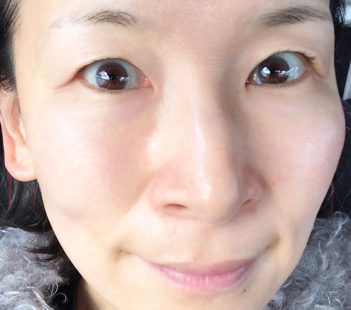 すっぴん風メイク ユーザーセレクト(サニーブラウン)のBefore画像