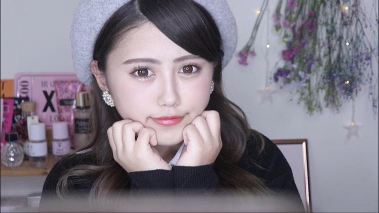 バレンタインメイク♡のBefore画像