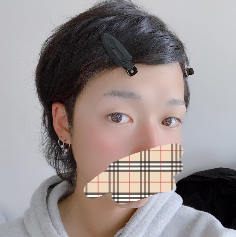 普段メイクのBefore画像